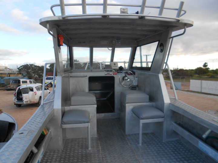 Exmouth Boat Hire 7m boat