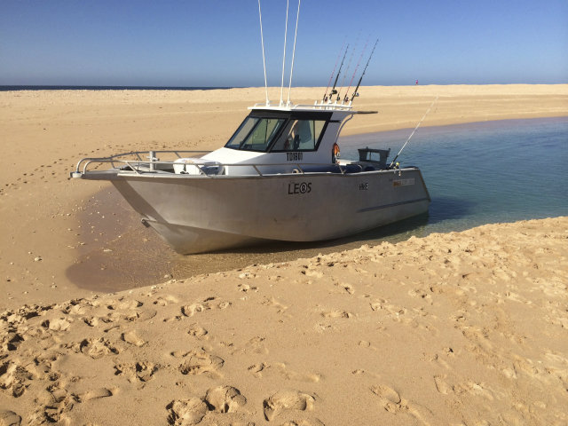 Exmouth Boat Hire: 7.85m