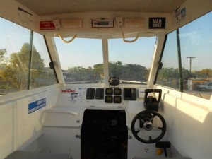 Exmouth Boat Hire 7.85m cabin