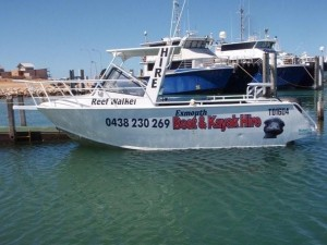 Exmouth Boat Hire: 6m Forward Cabin