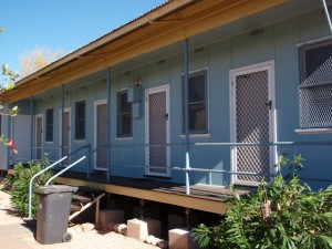 Exmouth holiday accomodation: front deck