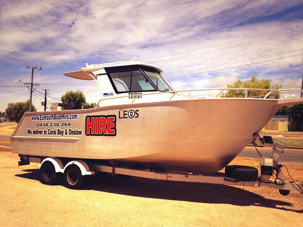 7.85m Hire Boat: The Ultimate serious fishing rig