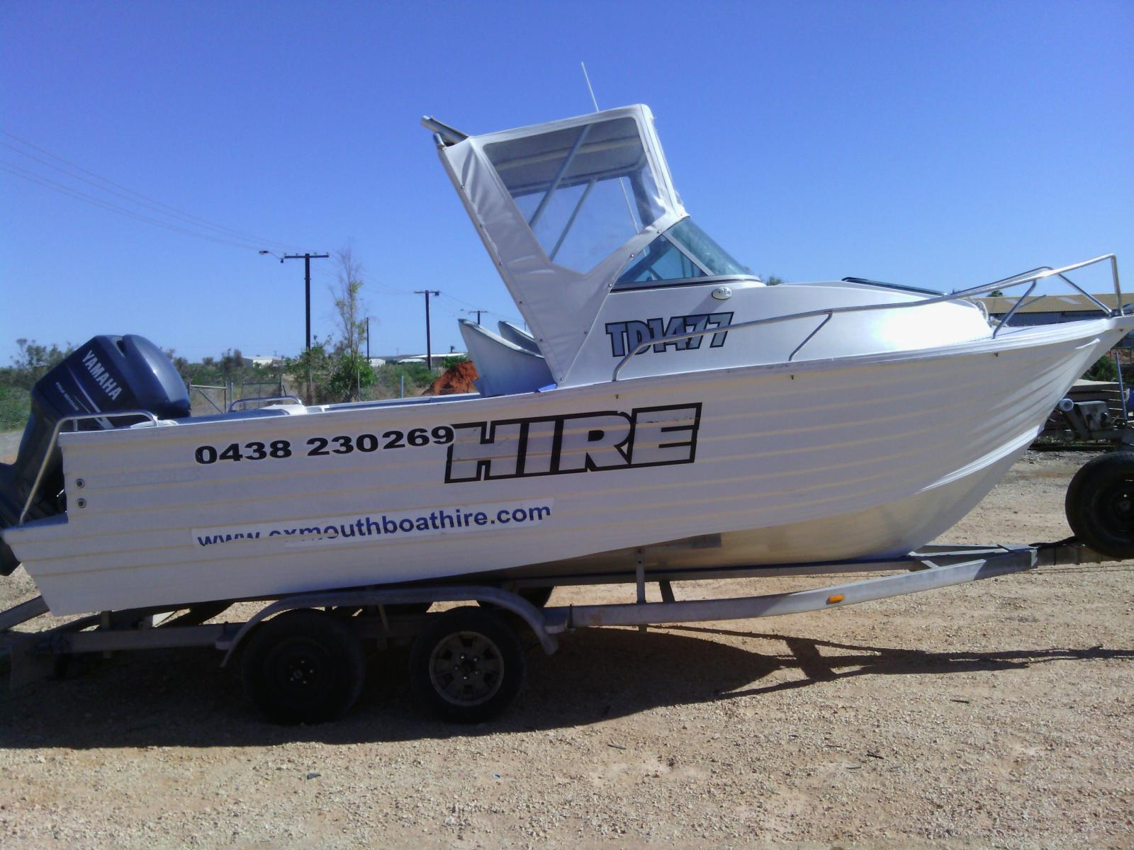 Exmouth Hire Boat