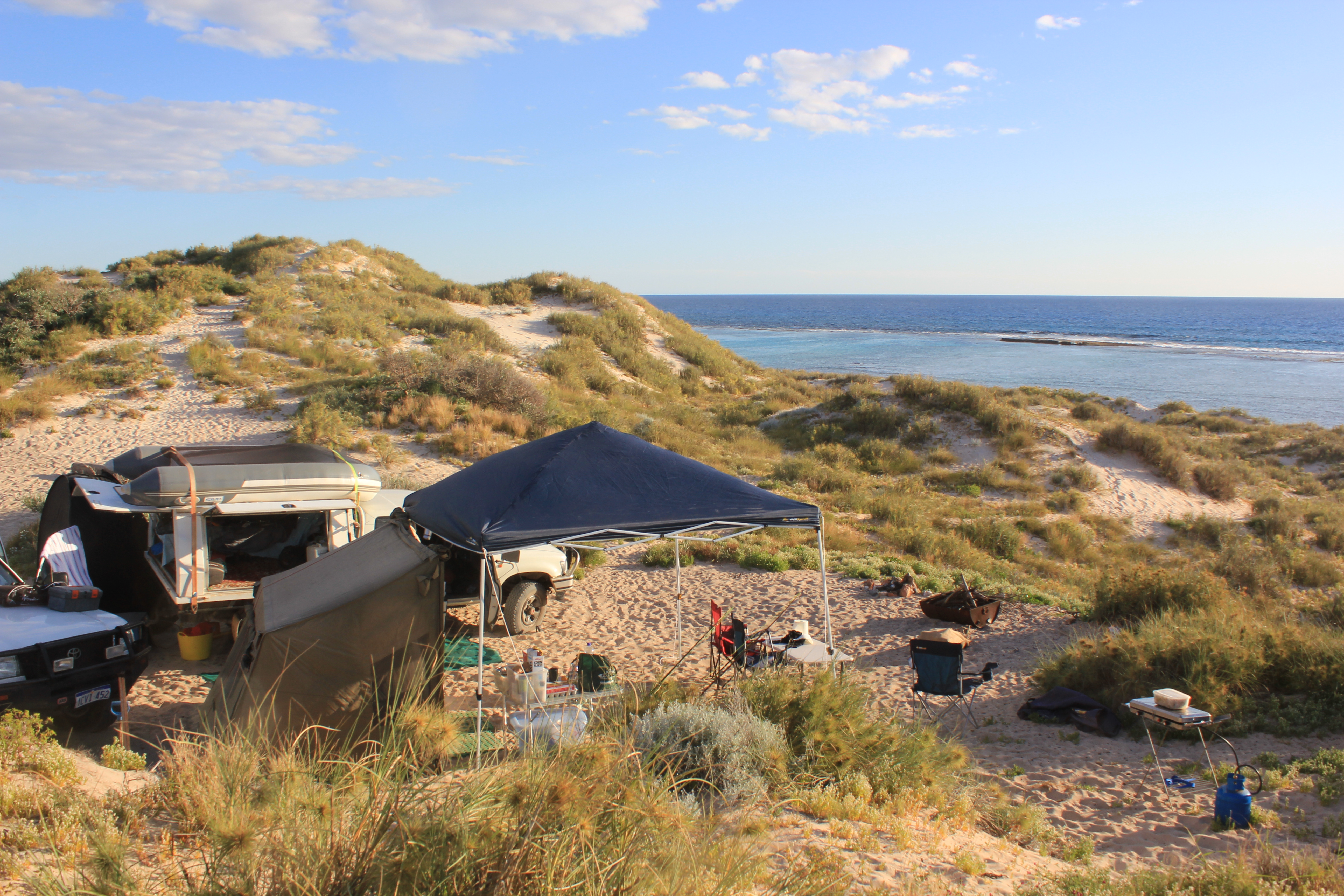 camping gear hire