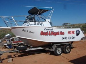 5.5m Boat Rental in Exmouth