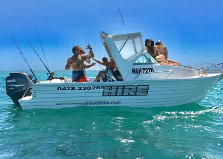 boat hire in exmouth