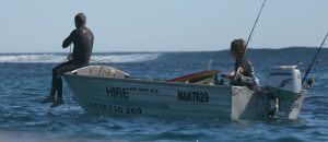Boat Hire Ningaloo Reef